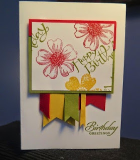 Using up scraps  Zena Kennedy Stampin Up independent demonstrator