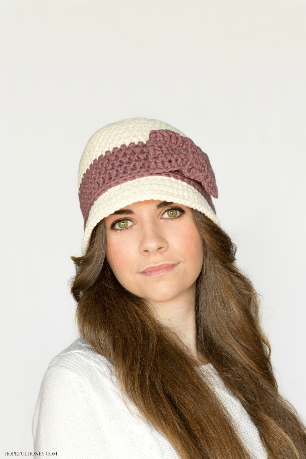 Pattern Crochet Cloche Hat : Hopeful Honey Craft, Crochet, Create: Downton Abbey ...