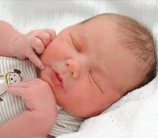 photo of baby paul benjamin