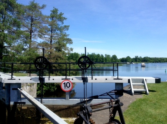 lock on Rideau near Burritt's Rapids