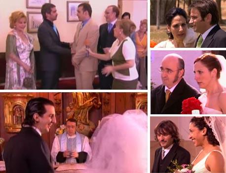 Mauri y Fernando, Emilio y Belén, Malena Alterio, Fernando Tejero, Adria Collado, Luis Merlo, bodas, aqnhqv, boda gay