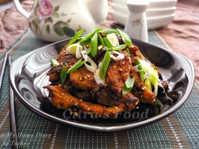 Citra's Home Diary: Dak Bulgogi / Korean Chicken BBQ