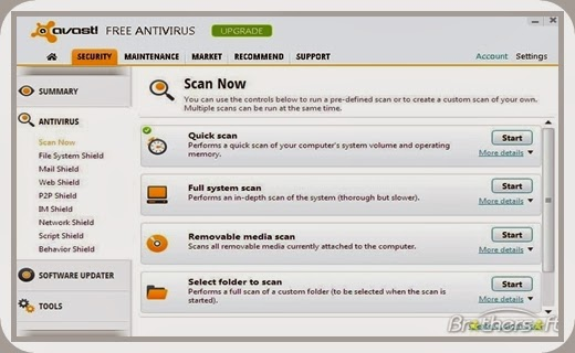 Avast Free Antivirus 8 + Lifetime Serial Key Full Version