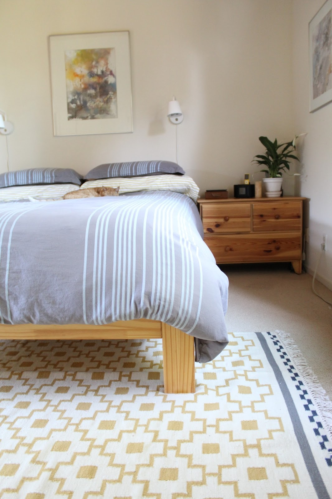 Turned To Design Dad Decor Quick Bedroom Makeover