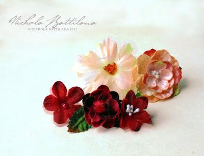 Simple Petaloo Flower Favor Rings - Nichola Battilana