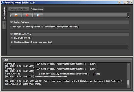 Update ECM Key Powervu Terbaru