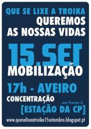 Acorda, Aveiro, Indignados, Internacional, Levantar, Mobilização, Nacional, Nação, Portugal, Povo, Rua, Troika, Vidas