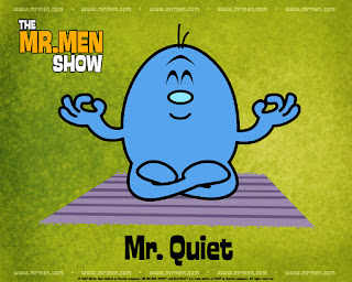 Mr Men Show Mr Quiet Wallpaper
