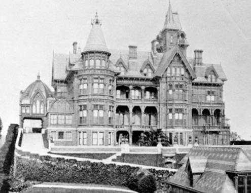 Mansions Of The Gilded Age The Mark Hopkins Mansion San