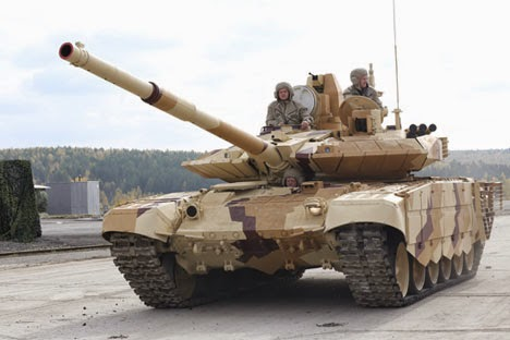 Tank Rusia T-90SM, Mimpi Buruk Kompleks Antitank Terbaik AS