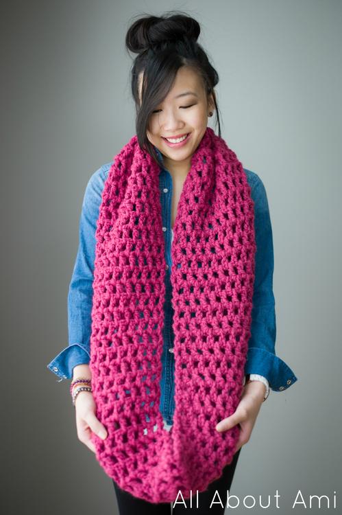 Crochet Long Cowl Free Pattern Pakbit For