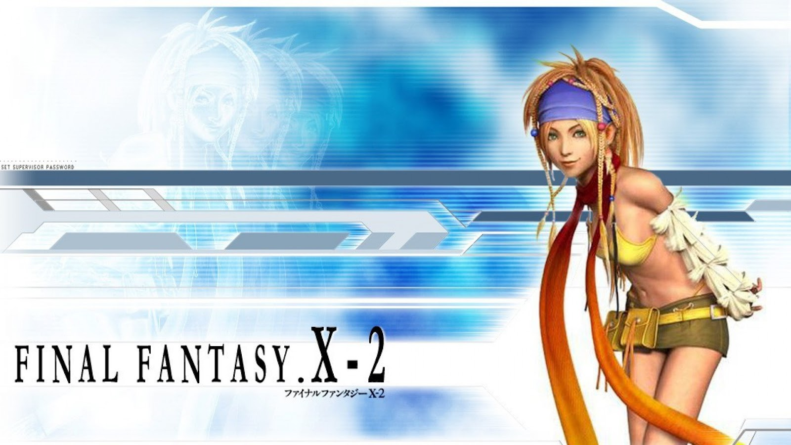 final fantasy x 2 wallpaper - simple pics