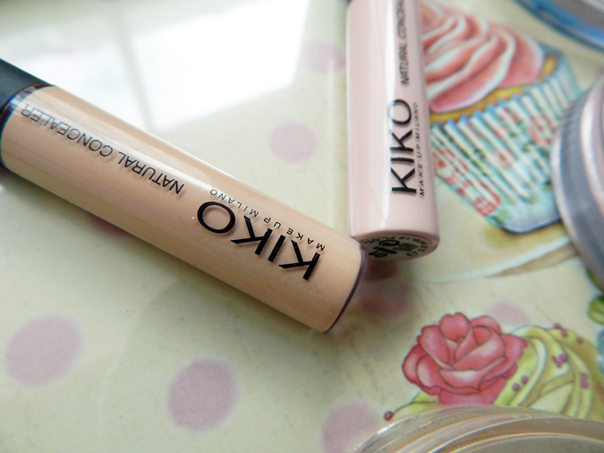 Review KIKO Natural Concealers