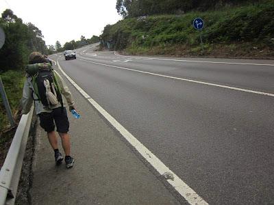 Camino de Santiago near Teo