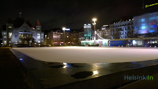 Ice Park on Rautatientori