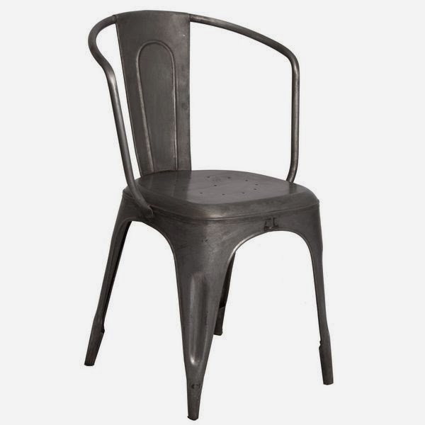 sillon comedor metal, sillon forja salon
