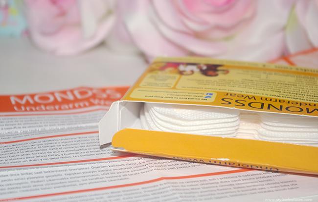 Mondss Underarm Wear packaging