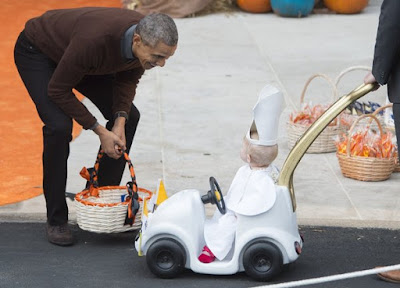 Baby Pope Wins Halloween At The White House