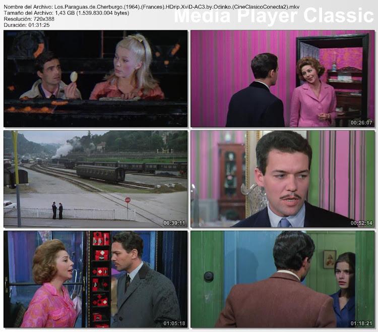 Capturas: Los paraguas de Cherburgo | 1964 | Les parapluies de Cherbourg