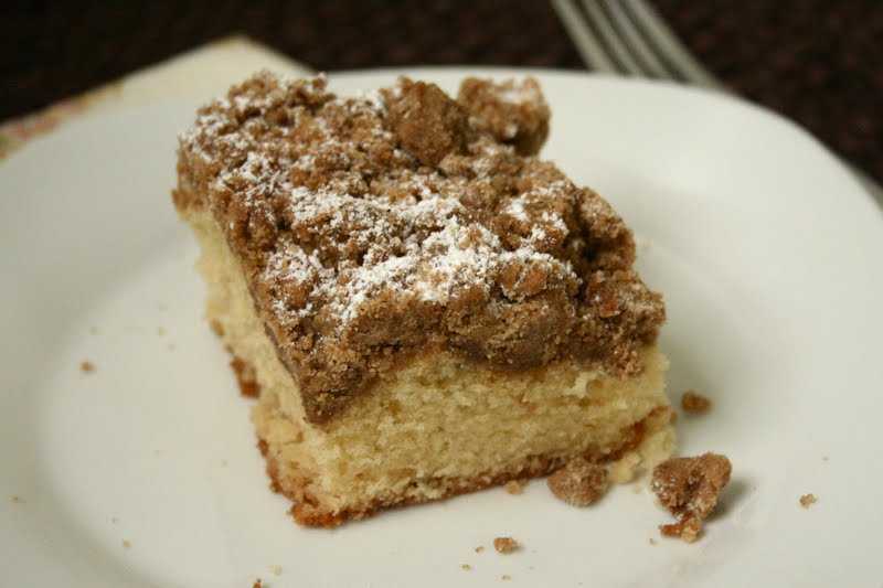 New York-Style Crumb Cake : Oven Love