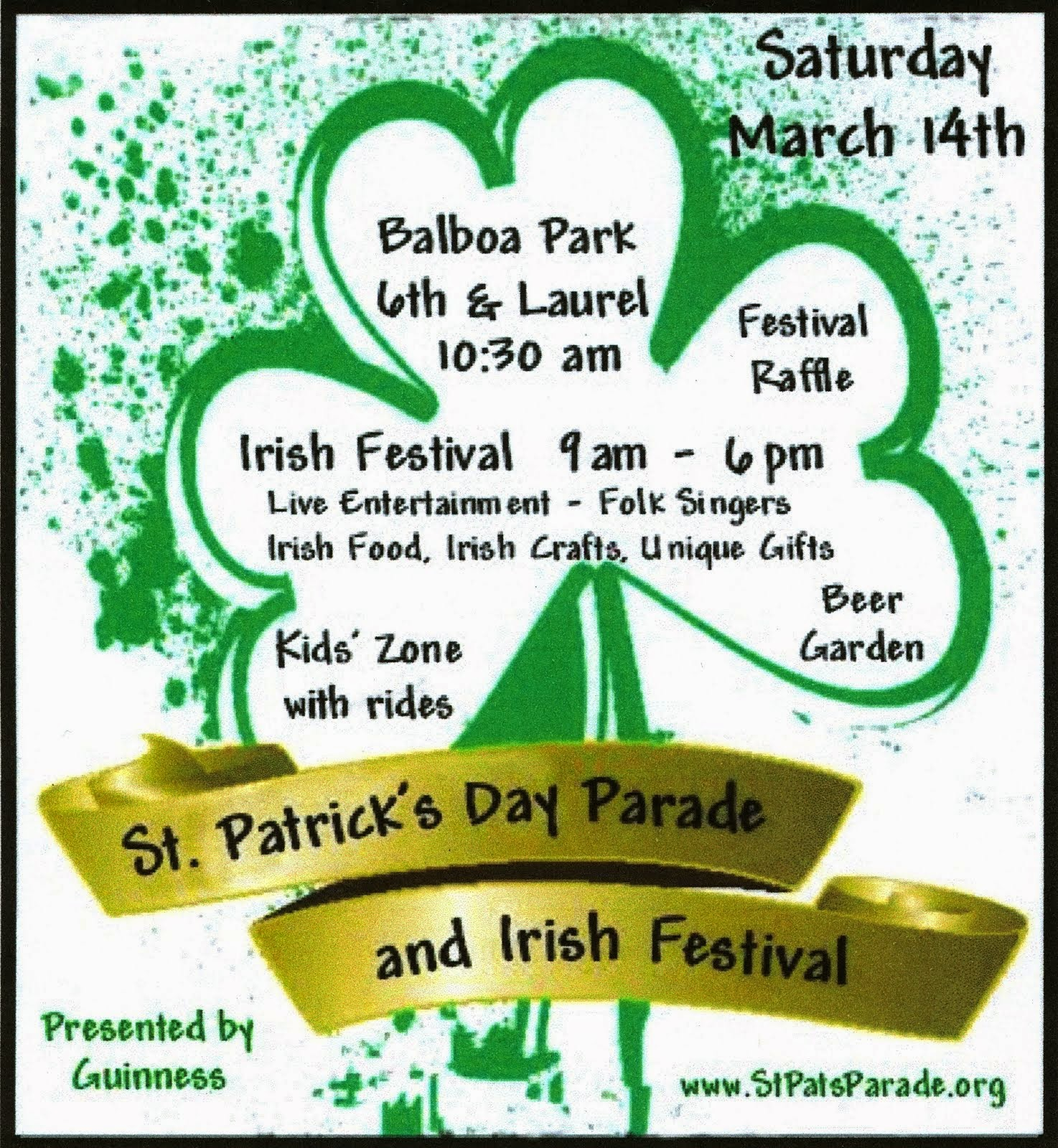 35th Annual St. Patrick's Day Parade & Irish Festival