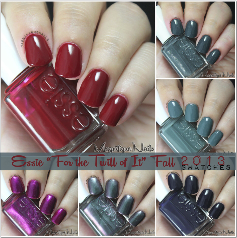 Magically Polished |Nail Art Blog|: Essie 2013 Fall Collection Swatches