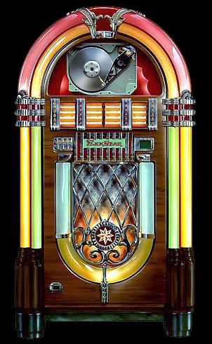 Pictures of 1950s Jukebox http://ttown30something.blogspot.com/2011/07/candices-must-have-of-week-pandora-50s.html