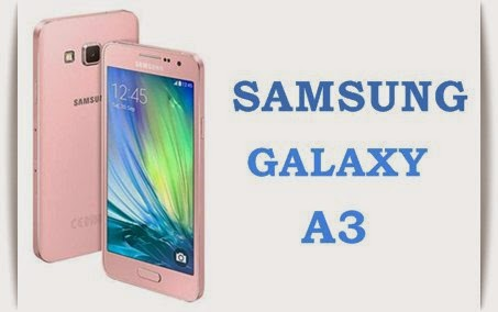 Samsung Galaxy A3: 4.5 inch Super AMOLED,1.2 GHz Quadcore Android Phone Specs, Price