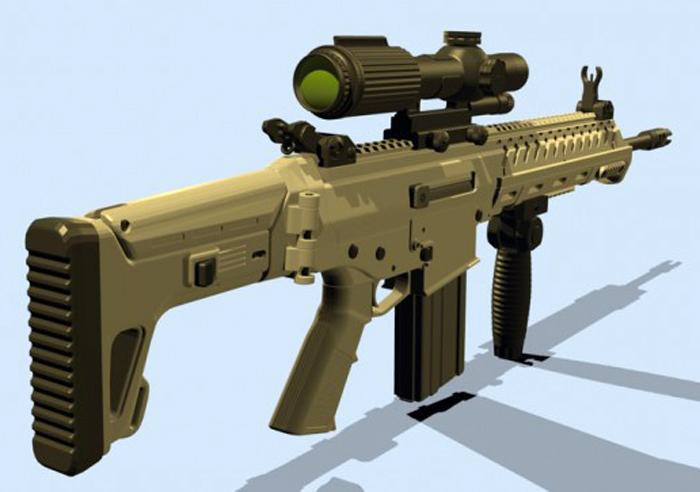 Senjata SSX buatan PT Pindad