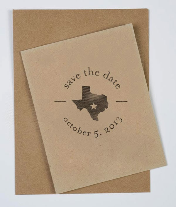 25 Save The Date Stamps for Wedding