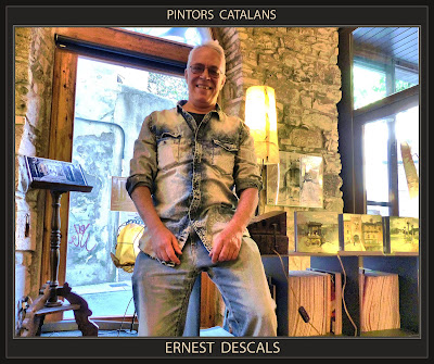 PINTURA-PINTORS-CATALUNYA-CATALANS-ARTISTES-PINTOR-ERNEST DESCALS-EXPOSICIONS--