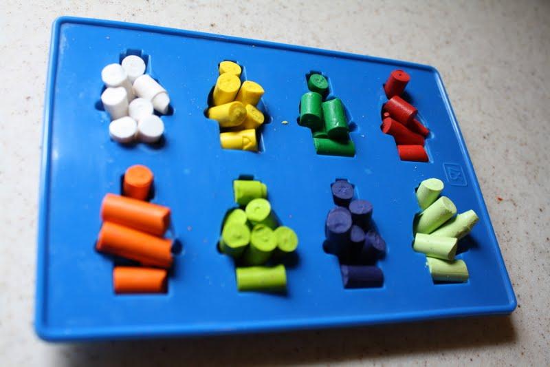 Lego party how toMini figure crayon tutorial Farmish Momma