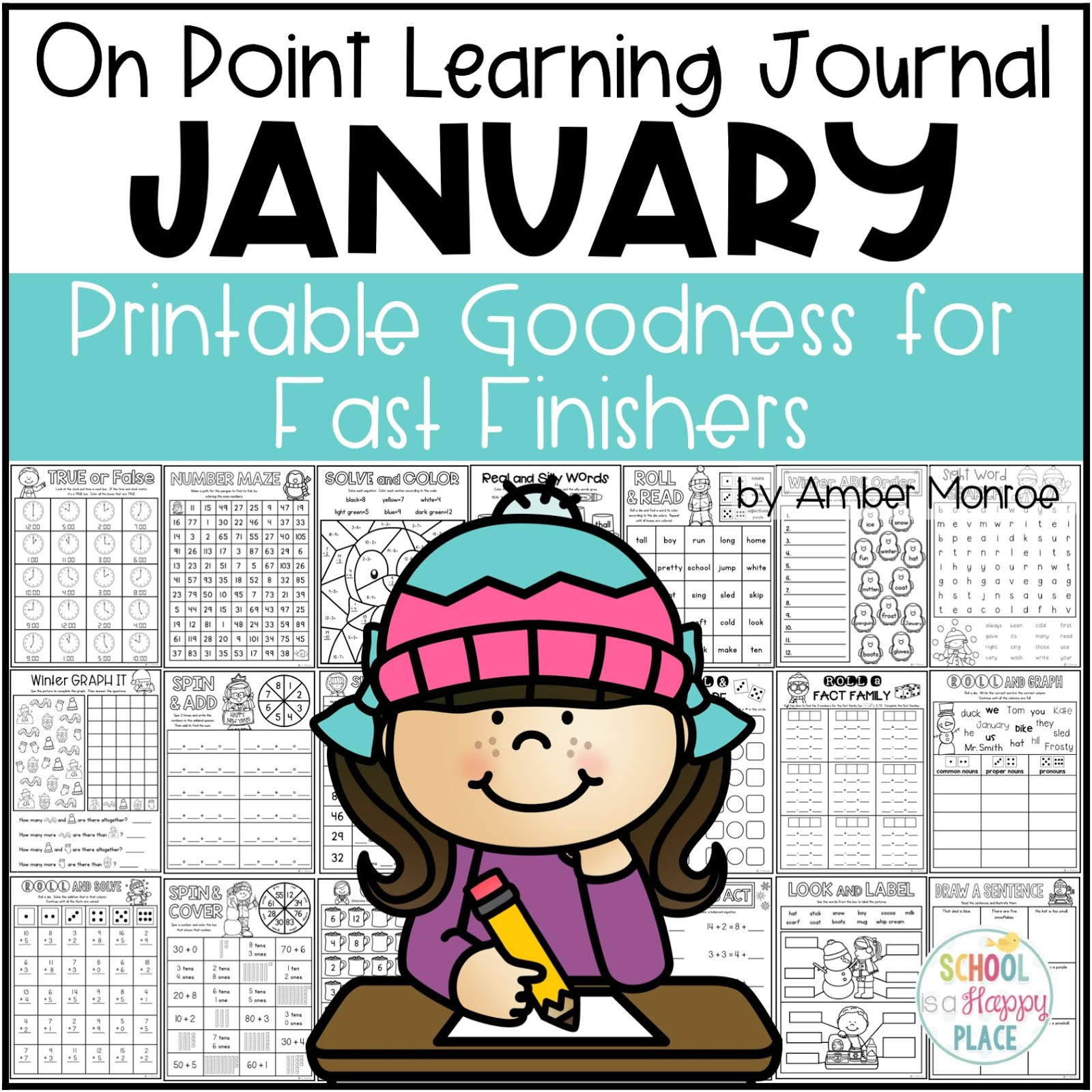 Fast Finisher Activities for January