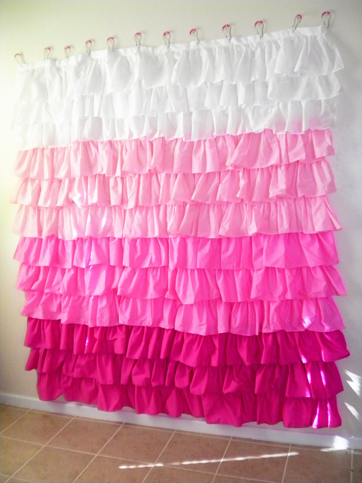 Diy ruffled shower curtain - Diy Ruffled Shower Curtain 7