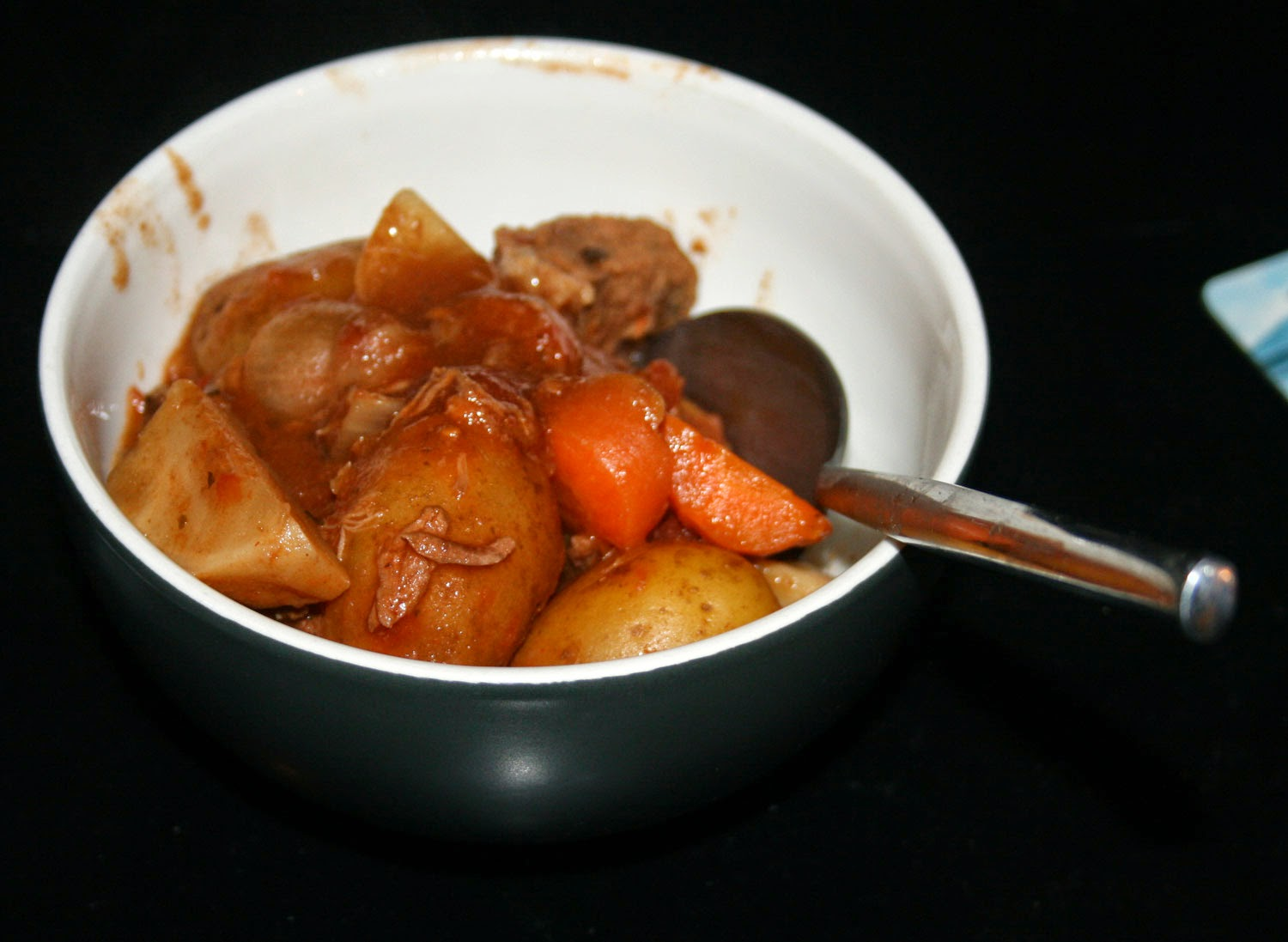 A lovely bowl of stew