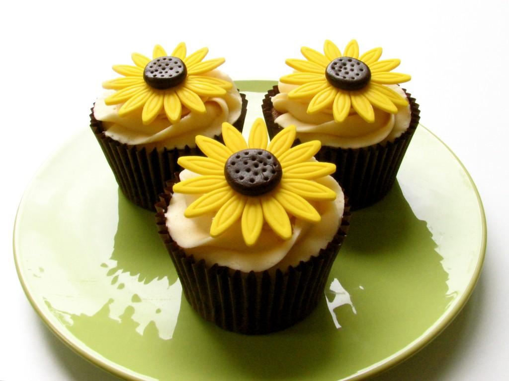 Fondant Sunflower Royal Cakes Decor