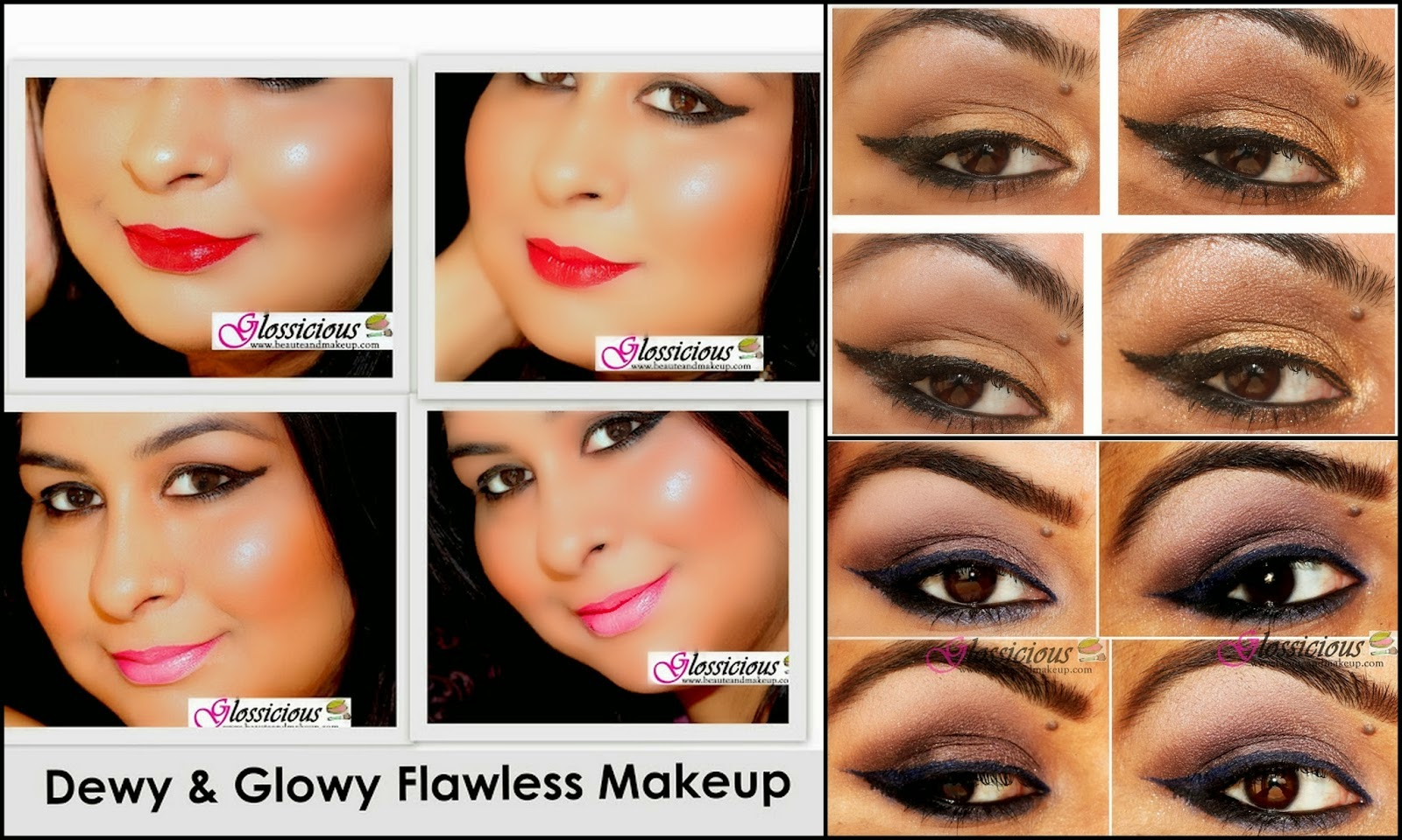 face makeup step by step with pictures nail art and