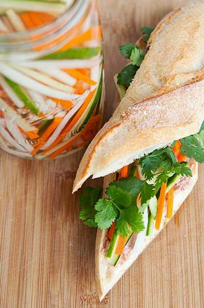 Cách làm dưa góp su hào cà rốt giòn ngon