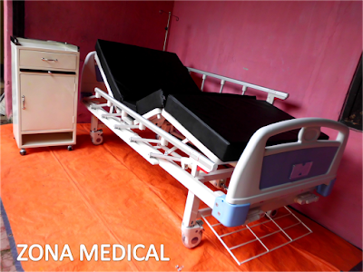 Tempat Tidur Pasien Rumah Sakit ABS 2 Crank SELLA [ RZ-30A ]