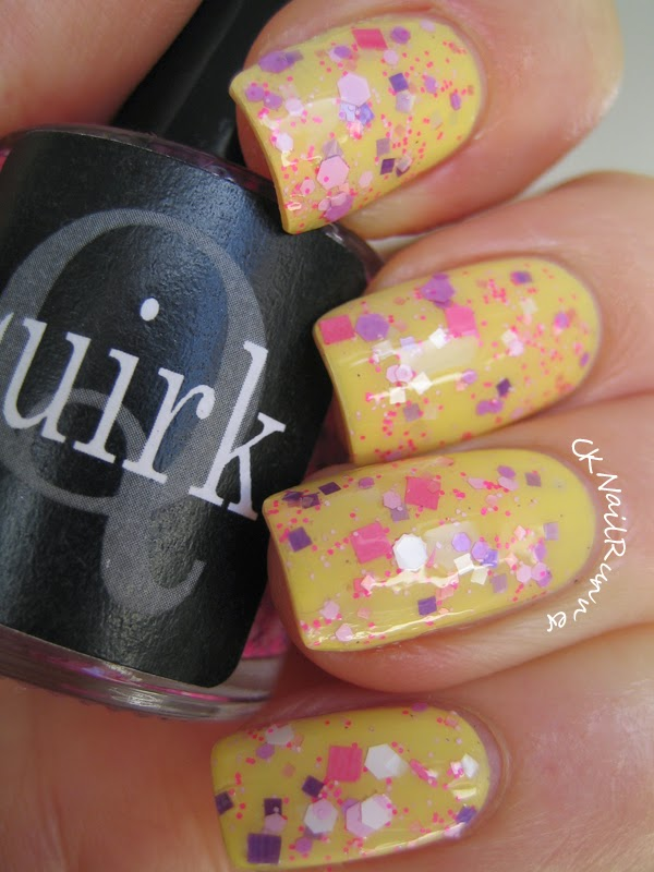 Quirk Pinky Promise over Butter London Jasper