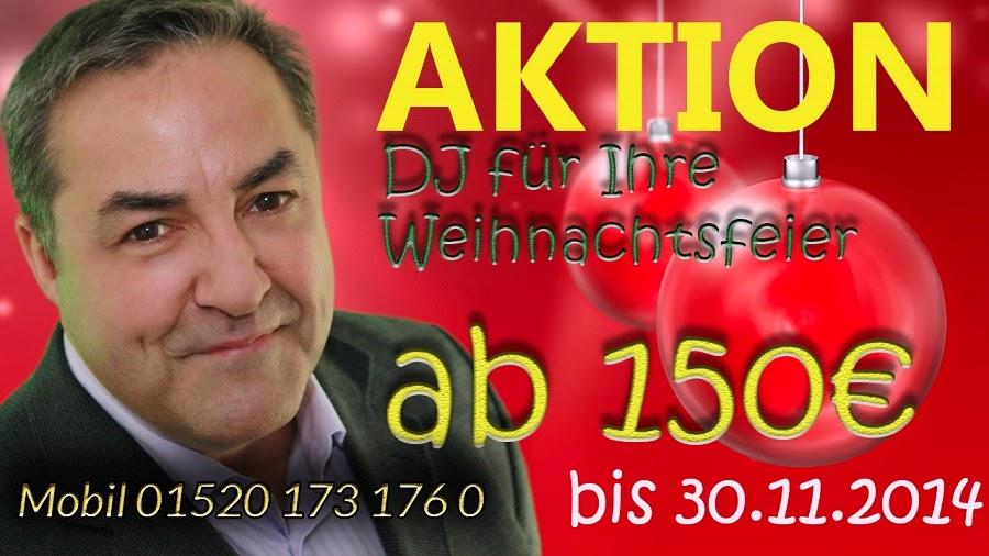 Angebot DJ Neubrandenburg Weihnachsfeiern