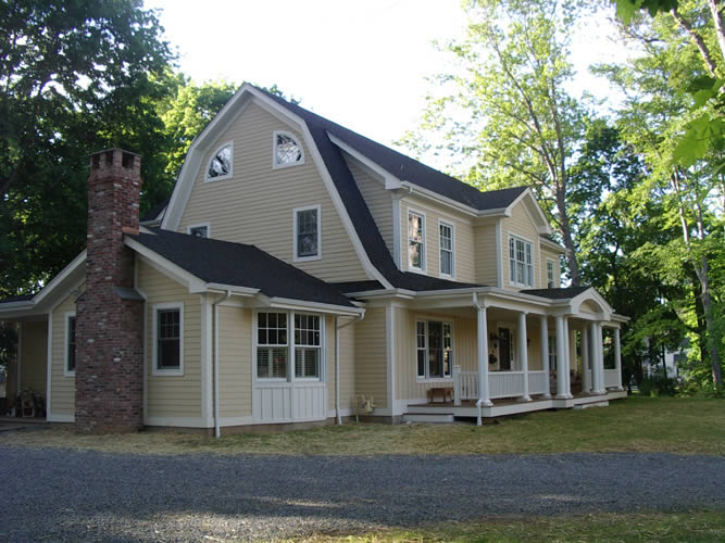 Home styles home style decoration idea for Dutch colonial house plans