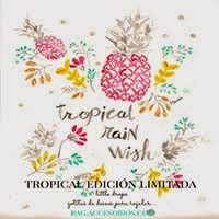 PULSERAS TROPICAL RAIN WISH