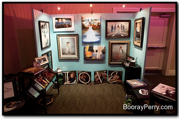 Tampa Wedding Photography: Bridal Show Booth