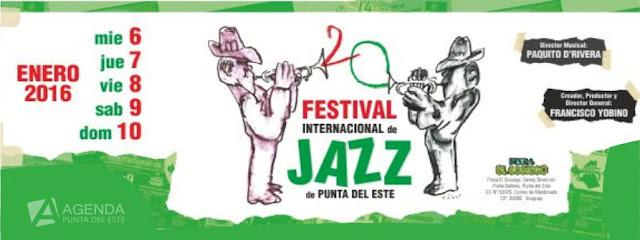 Afiche Festival Internacional de Jazz de Punta del Este 2016
