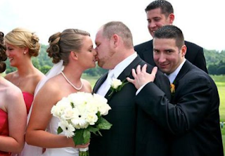 funny picture of  wedding: pity for the gay!