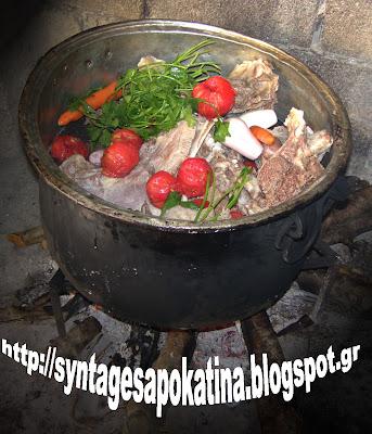 γίδα βραστή σχιζιώτικη http://syntagesapokatina.blogspot.gr