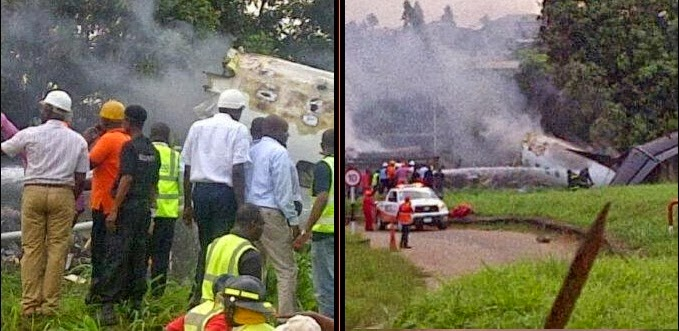 ikeja lagos plane crash