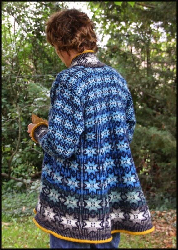 modele tricot gratuit jacquard