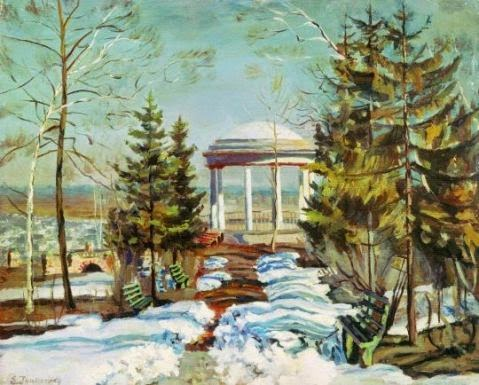 стихи русских классиков про весну